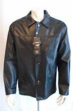 NWT GA Milano Italian Made Leather Coat  XX Large Size