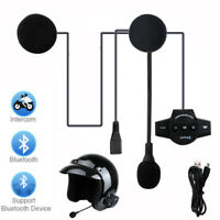 Bluetooth BT8 Wireless Motorcycle Helmet Headset Speaker Handsfree Call Control