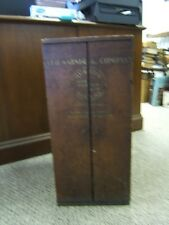 "Vintage Salesman Sample Wooden Stand O. FH Warner & Co. Baltimore 23"" Height"