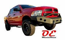 2013-2015 Ram 1500 KO Off Road Front Bumper Heavy Duty Replacement Winch Ready