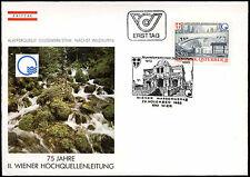 Austria 1985, seconda linea di galleggiamento VIENNA FDC primo giorno Coperchio #C 18283