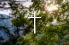 CROSS - Jesus Vinyl Die Cut Sticker Decal for Car Bumper Laptop Window Wall Yeti