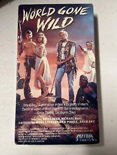 World Gone Wild (VHS, 1990)