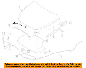 NISSAN OEM Hood-Front Seal Clip 0155308951