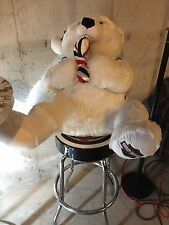 Harley Davidson Giant Stuffed Plush Christmas Teddy Bear-DEALER EXCLUSIVE
