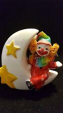 Clown bank  'sitting on the moon'