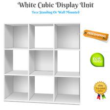 Cubic Display Unit Bookshelf Cabinet Storage Free Standing Wall Mount Kids NEW