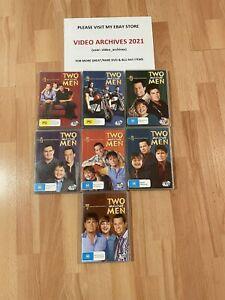 Two and a Half Men DVD's Seasons 1-7 (Region 4)