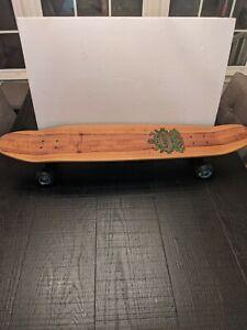 """Arbor Skateboards Hawaiian KOA Hybrid 38"""" with Kryptonics Wheels & Carver Trucks"""