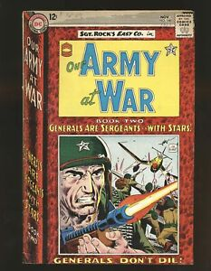 Our Army At War # 148 VG+ Cond.