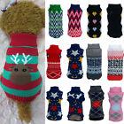 Winter Pet Dog Warm Clothes Puppy Shirt Sweater Cute Costume Jacket Coat Apparel