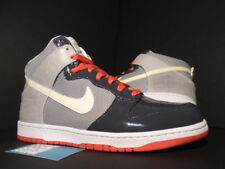 2008 NIKE SB DUNK HIGH PREMIUM ANTHRACITE WHITE SUNBURST PINK 317891-011 NEW 12