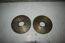 Dividing Indexing Head Plates 371 372 Lot Of 2