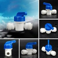 """5pcs Ball Valve 6mm 1/4"""" Tube OD Port Plastic Water System Loop Connector"""