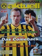 Programm 2000/01 Borussia Dortmund - VfL Wolfsburg