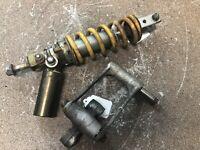 00-01 2000-2001 Honda RC51 RC-51 RTV1000R Rear Shock Linkage Yellow *