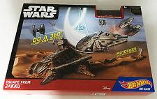 Hot Wheels Star Wars Escape from Jakku Car Race Track Mattel Ages 5+ Toy Boys