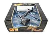 Maisto Special Edition Air Force WWII F6F Fighter Diecast Airplane NIB Low Ship