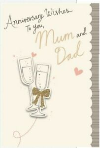 Hallmark Mum and Dad Anniversary Card