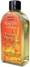 Evening Primrose Base Carrier Oil 100ml Oenothera Biennis Cold Pressed