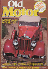 Old Motor 11/1979 featuring Parry Thomas,Rolls-Healey,Citroen,Packard,Land-Rover