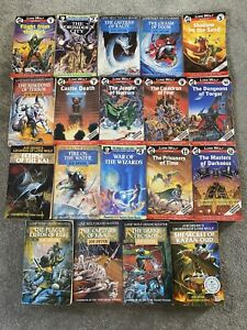 Lone Wolf by Joe Dever 19 Book Collection Used
