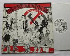 DISORDER Gi Faen I Nasjonalitenten Din UK ORIG LP DISORDER Rds (1985) punk EX/NM