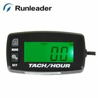 RL-HM032R Runleader Backlight Digital LCD battery replaceable inductive tachomet