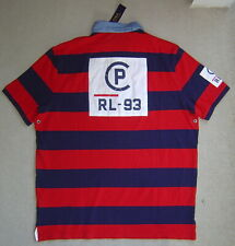 New NWT Polo Ralph Lauren Men's CP-93 CP93 Plates Rugby Shirt XL  MSRP $125