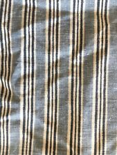 Vintage Ralph Lauren Blue Striped Square Pillow Case
