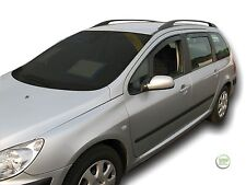 DPE26125 PEUGEOT 307 ESTATE 2001-2007 WIND DEFLECTORS 4pc HEKO TINTED