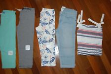NWT Girls 8 Spring Summer Lot of 5 Items Capris & Dress OLD NAVY GYMBOREE  TCP