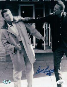Bill Russell Signed Autographed 8X10 Photo Celtics w/Muhammad Ali JSA II52990