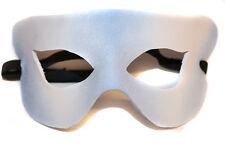 Ice Simple Superhero  Leather Handmade Mask Venetian Masquerade