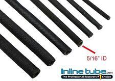 64-81 Black Cloth Wrap Wiring Harness Brake & Fuel Line Tube Wire 5/16 ID PER FT
