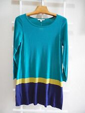 Womens Size XL Clothes Color Block Sheath Sweater Dress NWT $70 Fever