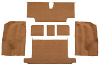 1973-1975 Chevrolet Corvette Roadster Cutpile Carpet Rear Area with Pad