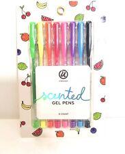 U brand Scented Rainbow Gel Pens, 8 Count