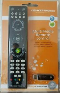 TV Windows Multi Media Control Centre Remote with Usb Stick Up To 10m
