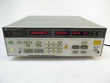 Hp 8970b Noise Figure Meter 10 1800 Mhz Option H18