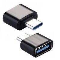 USB-C 3.1 Male Type C to USB OTG Adapter 3.0 A Female Data Converter Connector