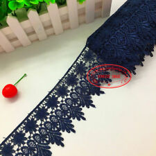 H57 1 Yard, Crochet Lace Trim Ribbon Wedding Applique Dress Sewing Decor Craft