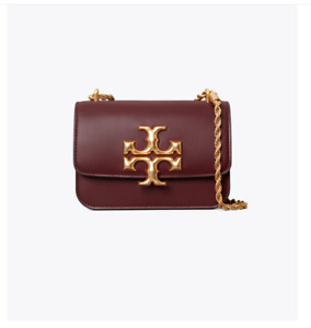 Tory Burch Eleanor Small Shoulder Bag - Claret