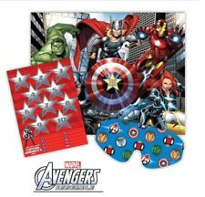 Marvel Hero Epic Avengers Party Game Party Supplies Boys Birthday E3932