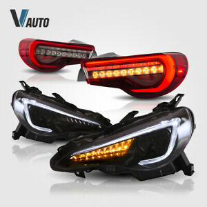 Fit For Toyota 86 Subaru Brz Scion FR-S LED Headlight and Tail Lights Assembly