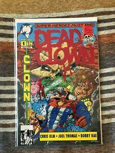 1993 Malibu Comics Dead Clown Red Cover Var #1 NM+