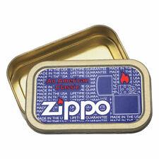 Zippo 3d Tobacco Tin 1oz 28g Compact Cigarette Smoking Holder Holographic Design