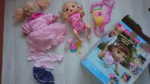 Baby Alive Doll Baby Alive Baby Go Bye Bye (Blonde) Talks only Polish+ AMELIA