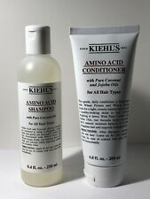 Kiehl's Amino Acid Shampoo 8.4 oz / 250 ml + Conditioner 6.8 oz / 200 ml NEW
