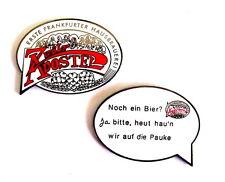 BIER Pin / Pins - ZWÖLF APOSTEL - HAUSBRAUEREI aus FRANKFURT / 2 PINS!!! [3010]